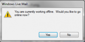 Windows Live Mail Offline